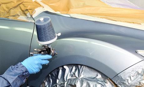 Подготовка и окраска автомобилей